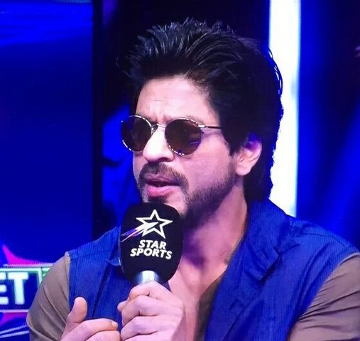 Shah Rukh Khan on Star Sports channel for Raees