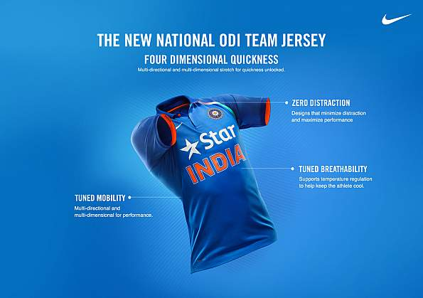 Team India new Nike Jersey
