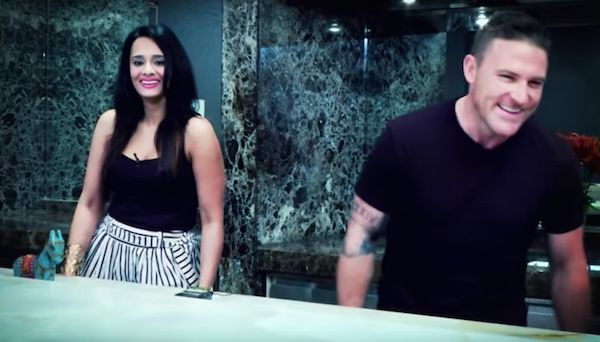 Mayanti Langer and Brendon McCullum