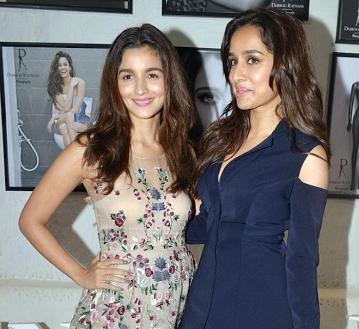 Alia Bhatt and Shraddha Kapoor