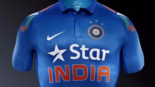 Team India star jersey