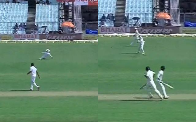 Fake-fielding by Dinesh Chandimal