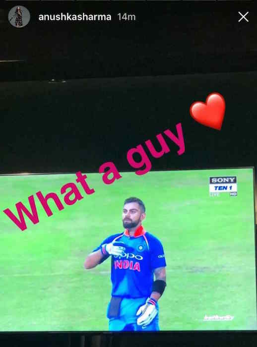Anushka Sharma Instagram Stories 3