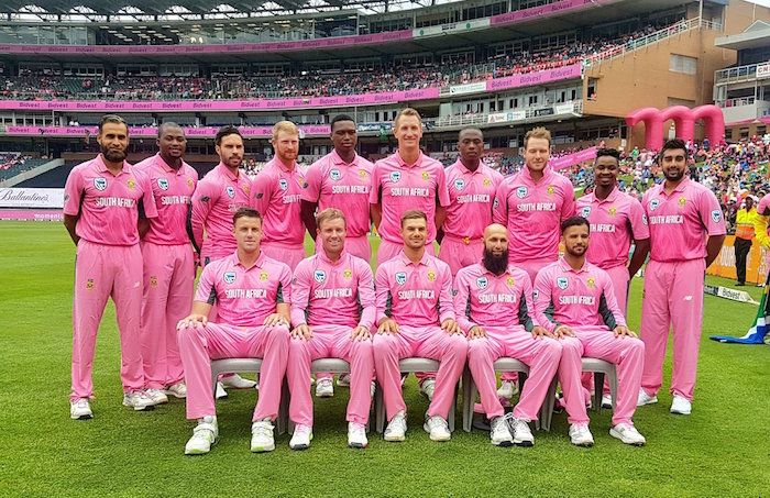 South Africa Pink ODI