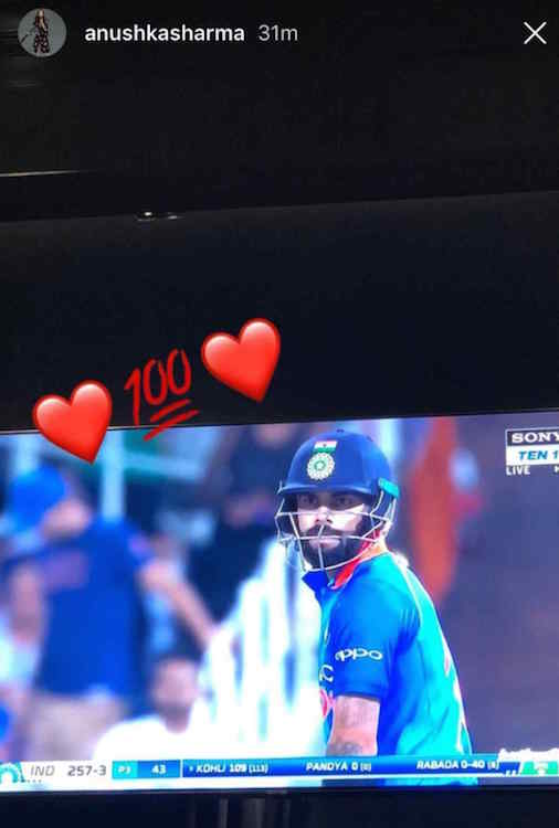 Virat Kohli Instagram stories 2