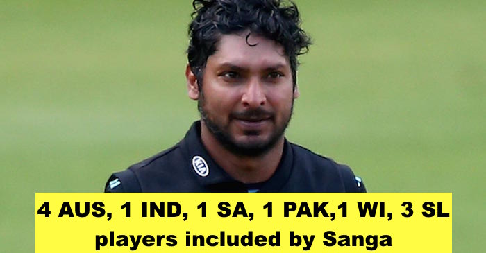 Kumar Sangakkara reveals his all-time XI