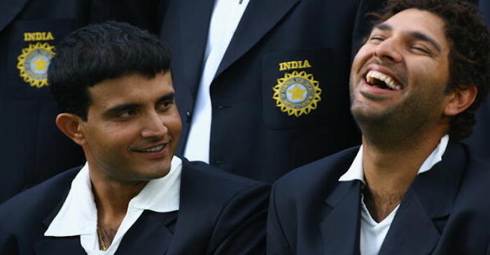 When the whole Indian team played a prank on Sourav Ganguly