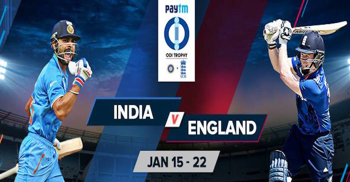 India vs England ODI Series 2017: When And Where To WATCH It LIVE