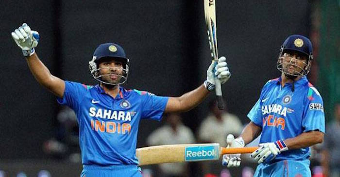 Rohit Sharma credits MS Dhoni for his 'career changing decision to open'