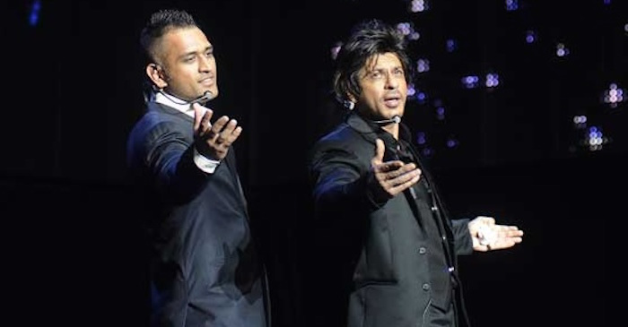 Here's how Shah Rukh Khan described MS Dhoni in one word