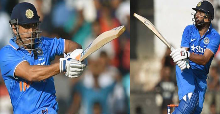 Twitter goes mental as Yuvraj Singh and MS Dhoni scores quick fifties in the first warm-up game against England