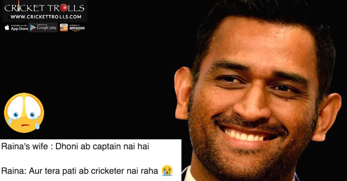 Twitter reacts to Dedhonitization; a good bye to captain MS Dhoni with tears and laughter