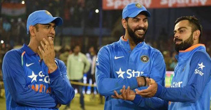 Virat Kohli gets a special gift from MS Dhoni after ODI series win against England