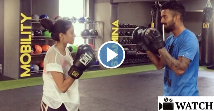 WATCH: KL Rahul girlfriend Elixir Nahar trying her boxing skills on the young cricketer