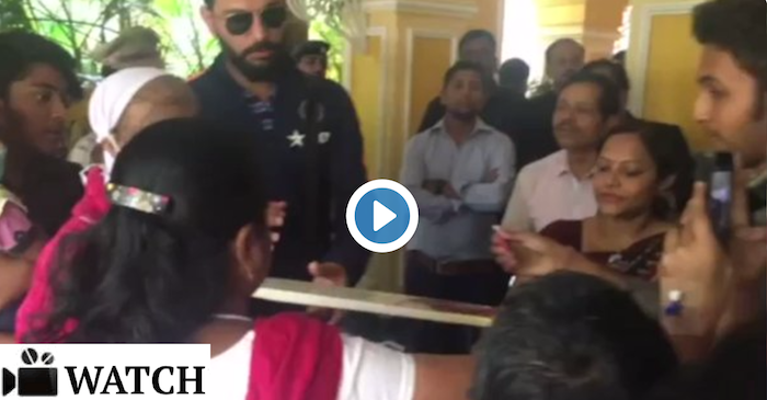 WATCH: Yuvraj Singh adds smiles to the faces of cancer patients in Cuttack