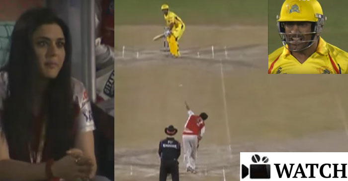 WATCH: MS Dhoni smashing two massive sixes off Irfan Pathan's final over