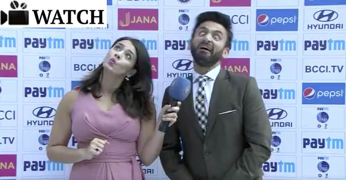 You will go LOL after watching this video of commentators and anchors taking Ishant Sharma's game face challenge