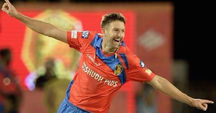 Twitter erupts as Andrew Tye picks up a hat-trick in his first IPL game