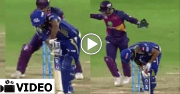 WATCH: Imran Tahir foxes Rohit Sharma with a magical delivery