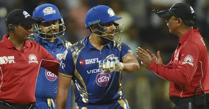 IPL 2017: Rohit Sharma fined for arguing with the umpire during a game against RPS
