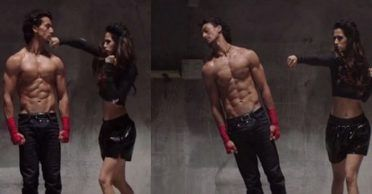 WATCH: The sneak peek into Tiger Shroff and Disha Patani's upcoming performances in IPL 2017