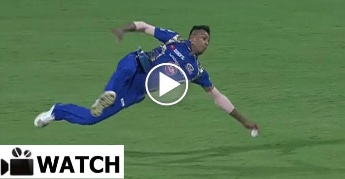 WATCH: Hardik Pandya's brilliance in the field during IPL Qualifier 2
