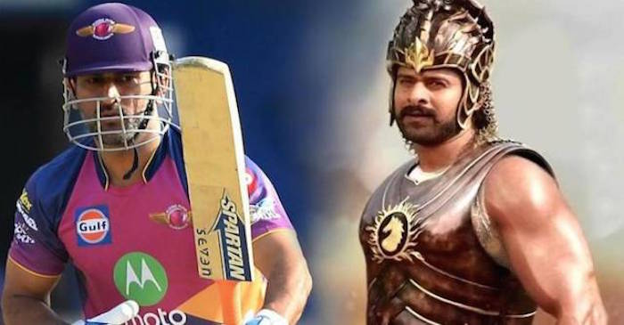 MS Dhoni gives an EPIC reply when asked why Katappa killed Baahubali?