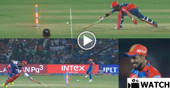 WATCH: Ravindra Jadeja strikes twice to run-out Marlon Samuels and Corey Anderson