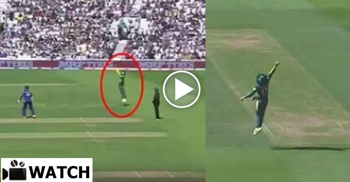 WATCH: AB de Villiers takes the best catch of the ICC Champions Trophy 2017 so far