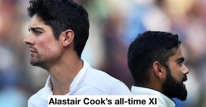 Alastair Cook reveals his all-time playing XI