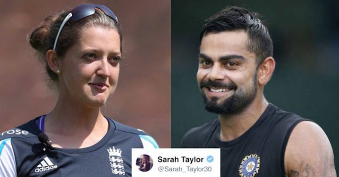 When England's women cricketer Sarah Taylor took a subtle dig at Virat Kohli