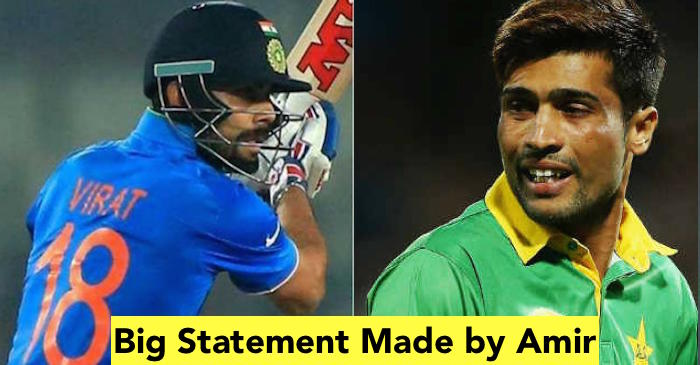 Mohammad Amir opens up about his rapport with Virat Kohli