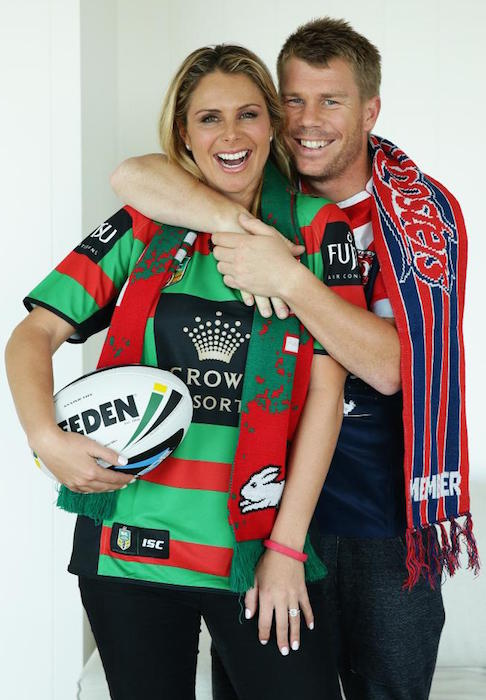 Candice Falzon- David Warner
