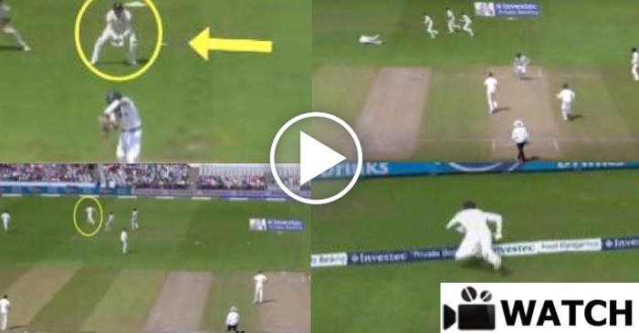 WATCH: Jonny Bairstow stunned everyone with his super CHASE to save a boundary