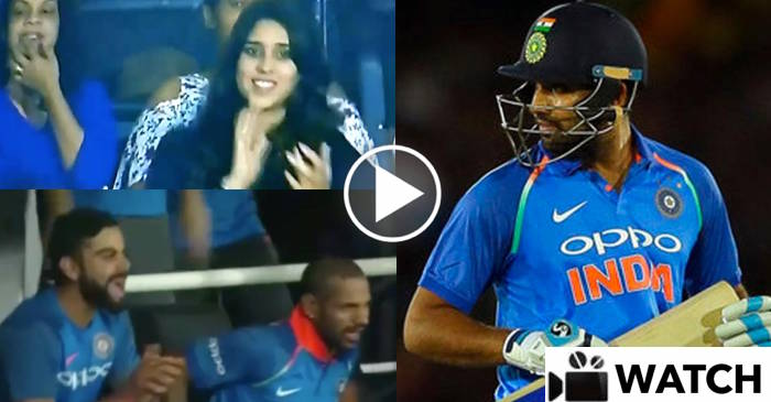 WATCH: Ritika Sajdeh celebrating her husband Rohit Sharma's century, Virat Kohli comes up with a brilliant reaction