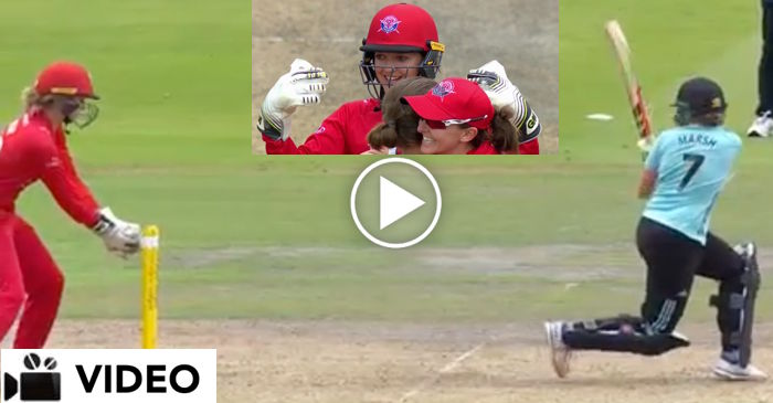 WATCH: Sarah Taylor's mind blowing reaction during wicket celebration