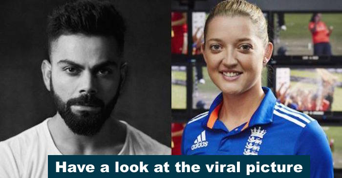 A picture of Virat Kohli clicked with Sarah Taylor and friends is viral on the internet