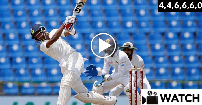 WATCH: Hardik Pandya scores record 26 runs off Malinda Pushpakumara's over