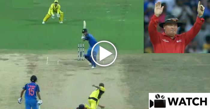 WATCH: MS Dhoni hits James Faulkner for a magnificent SIX in Chennai