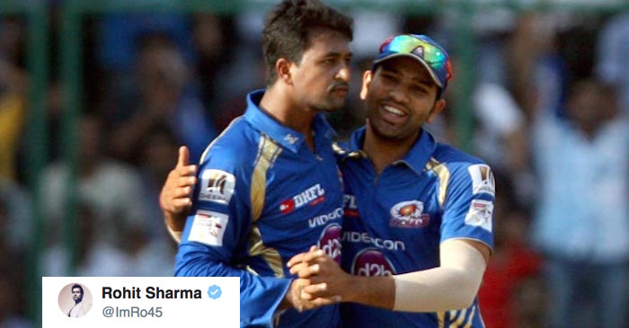 Pragyan Ojha thanks Rohit Sharma for his birthday message