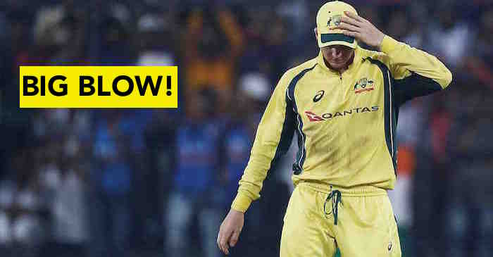 Steve Smith ruled out of India vs Australia T20I series; replacement announced