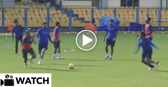 WATCH: Virat Kohli & Co. preparing hard for Celebrity Clasico 2017