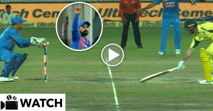 WATCH: Virat Kohli's rocket throw to run-out Daniel Christian