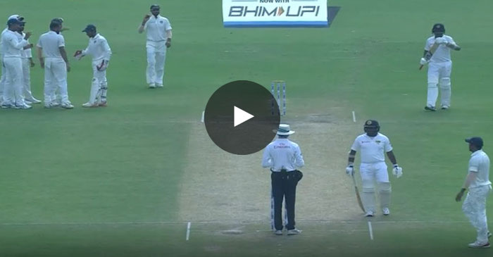WATCH: Dilruwan Perera does a Steve Smith, looks towards dressing room before taking DRS