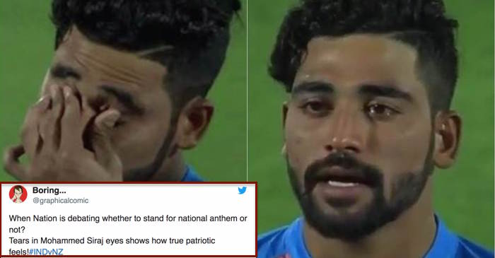 Twitter reacts for Mohammed Siraj