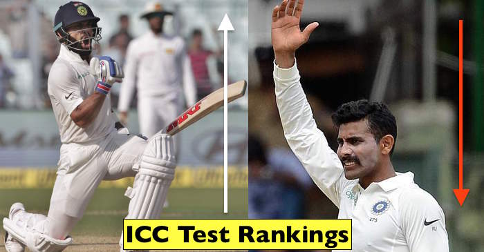 Latest ICC Test Rankings For Batsmen, Bowlers & All-Rounders
