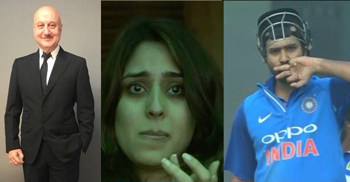 Anupam Kher touched by Rohit Sharma-Ritika Sajdeh beautiful chemistry, posts a lovely message on Twitter