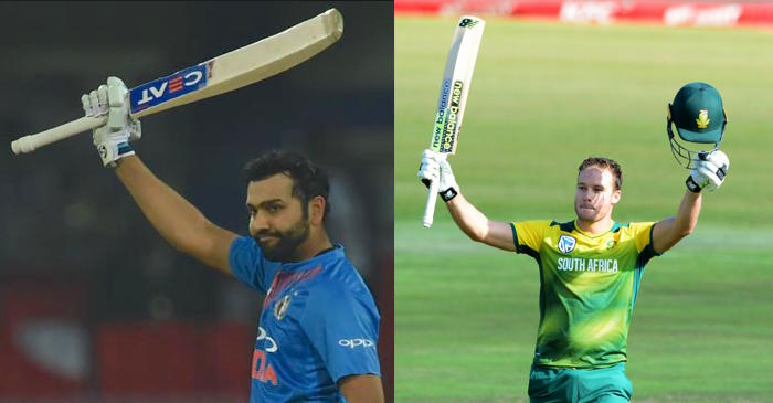 Rohit Sharma equals David Miller's record of fastest century in T20 Internationals