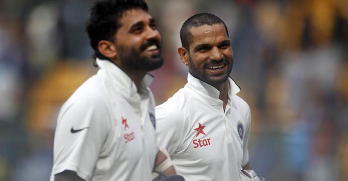 Shikhar Dhawan ruled out of the first Test against South Africa