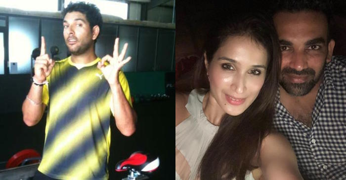 Yuvraj Singh posts a shirtless picture, Zaheer Khan's wife Sagarika Ghatge takes a funny dig